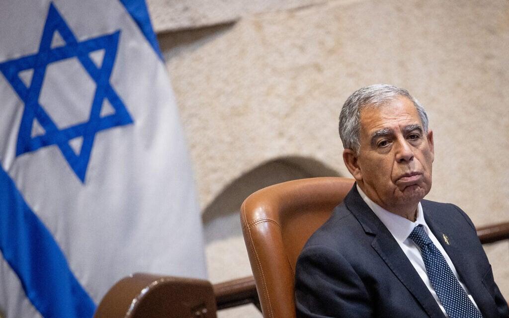 """יו""""ר הכנסת מיקי לוי (צילום: יונתן זינדל/פלאש90)"""