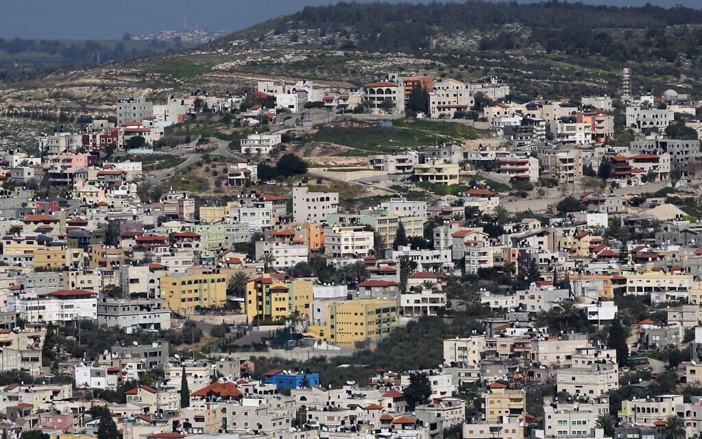 מבט על כפר כנא, 2011 (צילום: נתי שוחט/פלאש90)