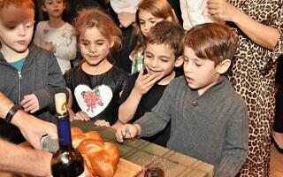 קהילה חוגגת — ישראלית-אמריקאית (צילום: IAC)