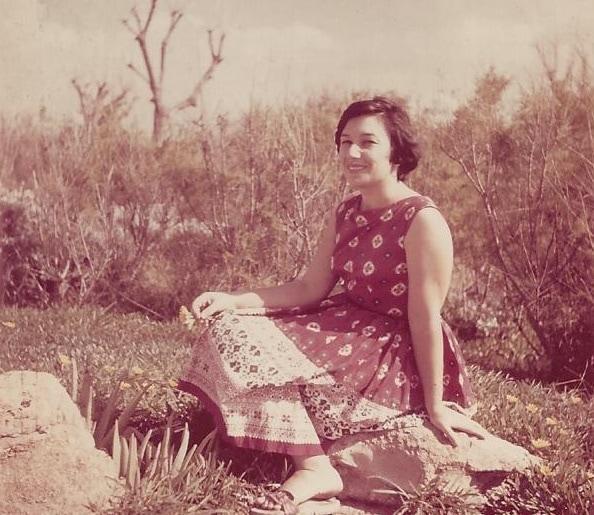 נעמי שמר ב-1961