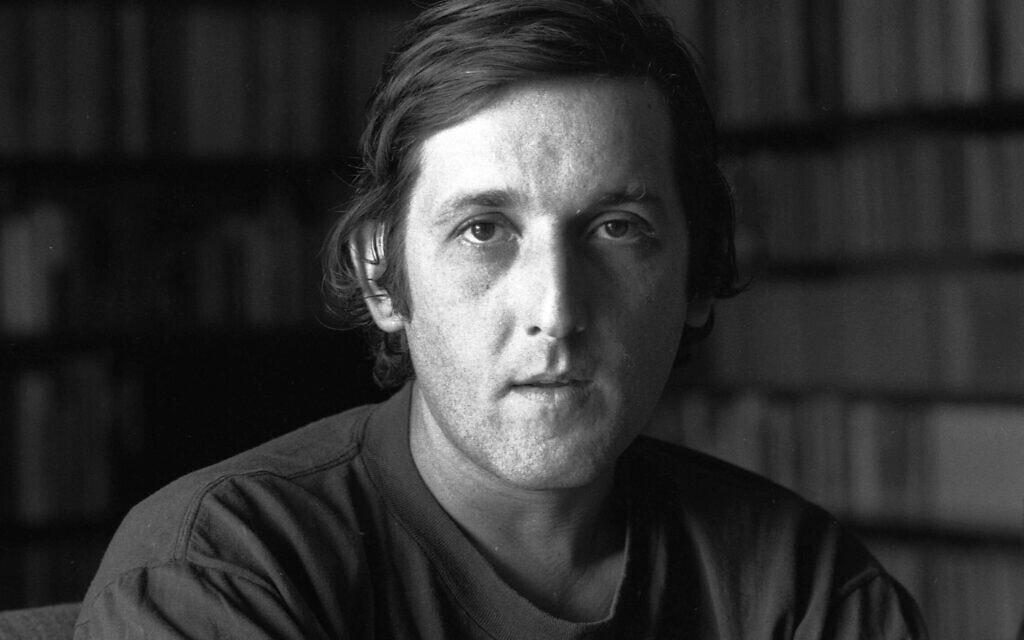 יוני רכטר ב-1982 (צילום: אוסף דן הדני, הספרייה הלאומית)