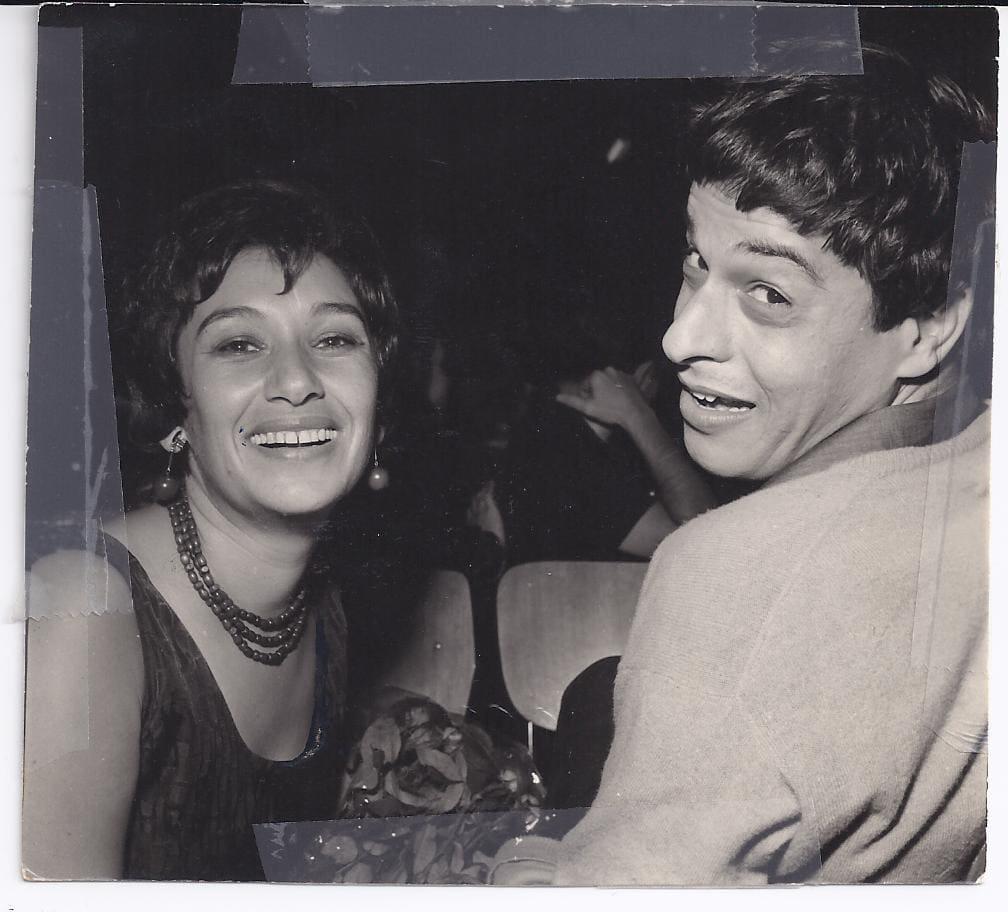 נעמי שמר עם יוסי בנאי ב-1964