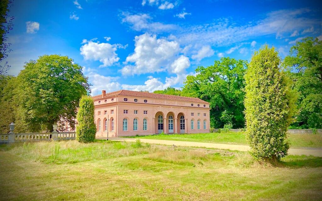 המרכז האירופי ללימודים יהודיים בפארק סנסוסי, פוטסדאם (צילום: ולטר הומולקה)