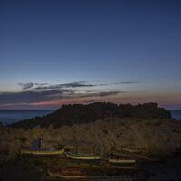 האי היווני סאמוס שבמזרח הים האגאי, 9 ביוני 2021 (צילום: Petros Giannakouris, AP)