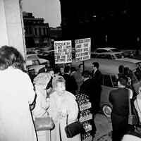 Jack Ruby Protest (צילום: AP Photo)