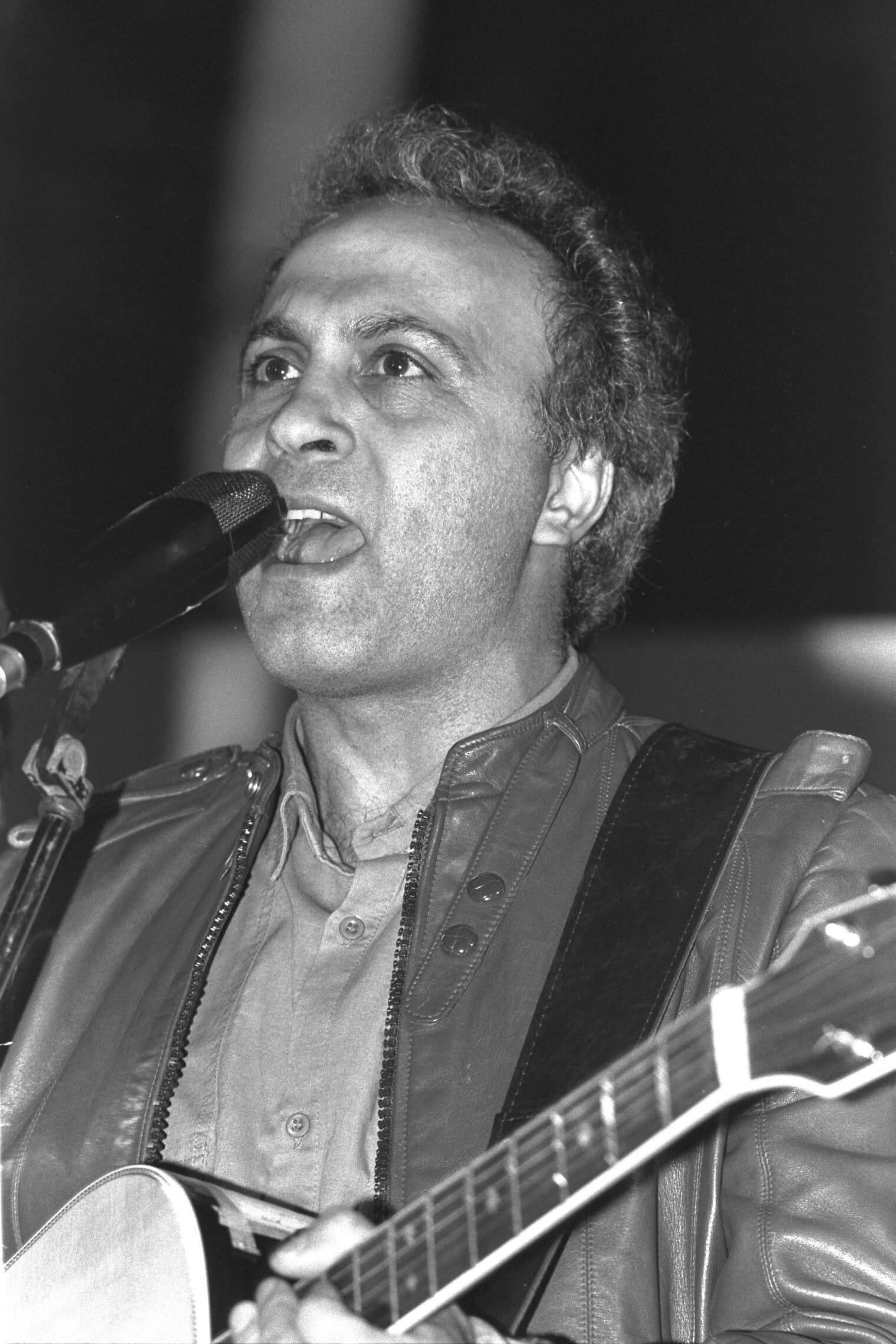 """מיקי גבריאלוב ב-1988 (צילום: נתי הרניק/לע""""מ)"""