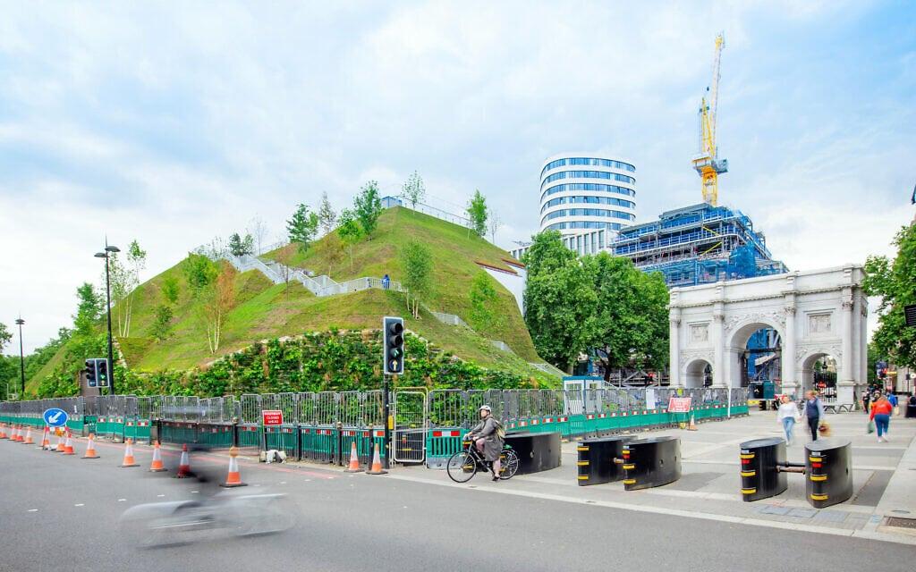 התלולית במארבל ארץ', לונדון, אוגוסט 2021 (צילום: City of Westminster)