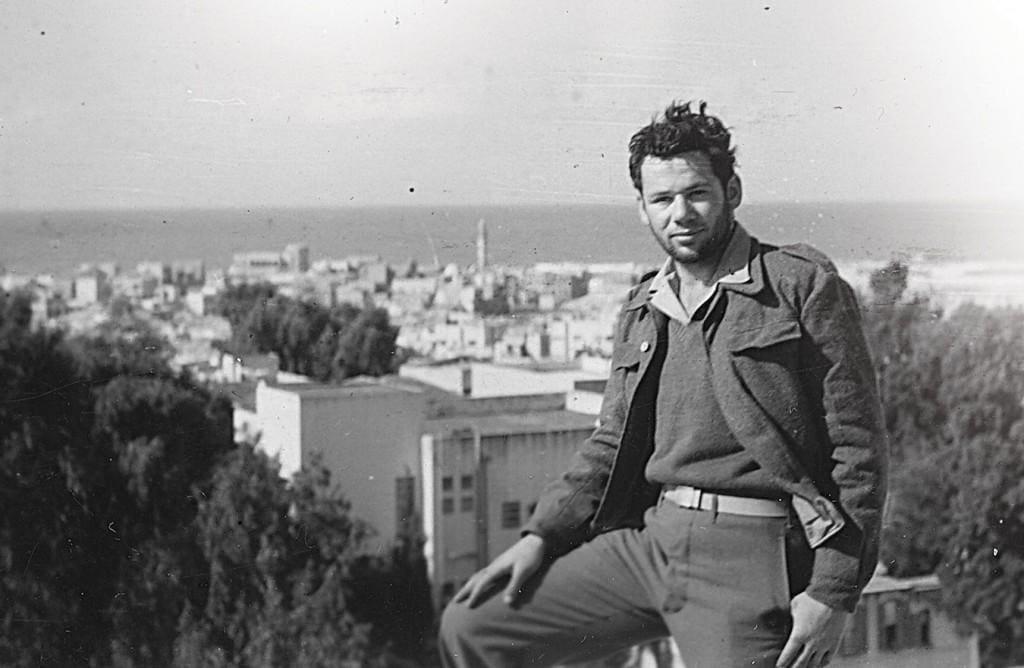 טום טוגנד בישראל ב-1948 (צילום: באדיבות טום טוגנד)