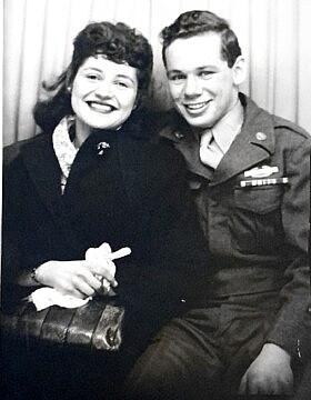 טום טוגנד ב-1946 (צילום: באדיבות טום טוגנד)