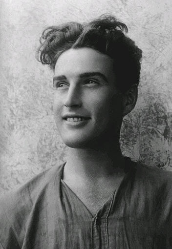 אלכסנדר פן בצעירותו (צילום: סינילגה אייזנשרייבר-פן)