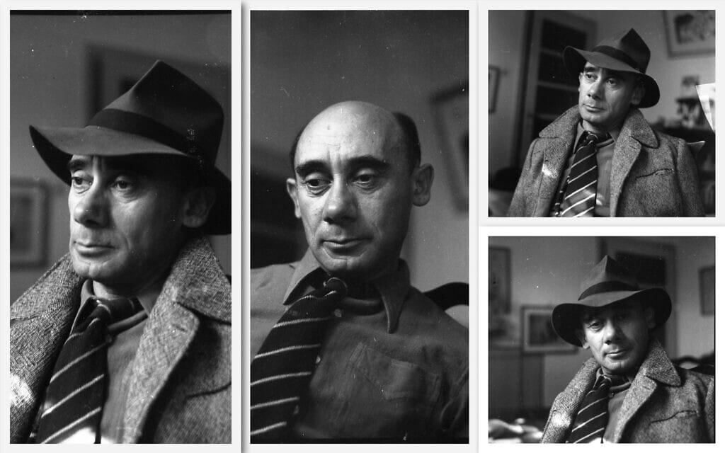 אברהם חלפי בשנות החמישים (צילום: אוסף בוריס כרמי, הספרייה הלאומית)