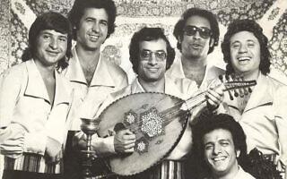 """להקת """"צלילי העוד"""" בשנות השבעים (צילום: שימוש לפי סעיף 27א לחוק זכויות יוצרים)"""