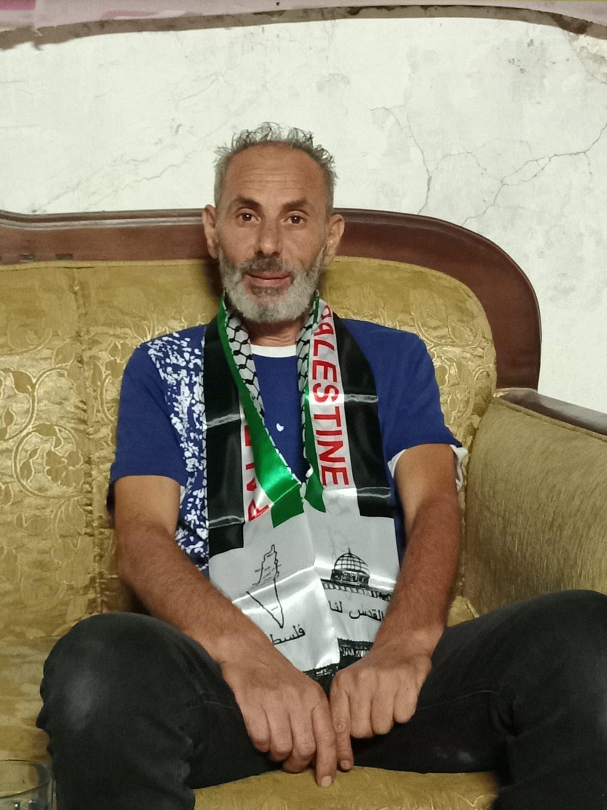 סאלח דיאב, תושב שייח' ג'ראח (צילום: באדיבות המרואיין)
