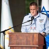 """אלוף תומר בר, מיועד לתפקיד מפקד חיל האוויר (צילום: דובר צה""""ל)"""