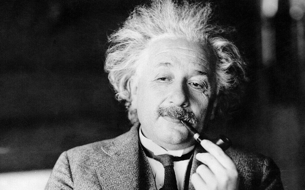 המדען אלברט איינשטיין (צילום: AP Photo, File)