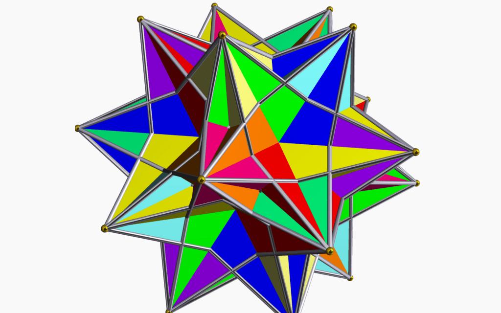 טטראדרון, (Robert Webb's Stella software as the creator of this image along with a link to the website: http://www.software3d.com/Stella.php, ויקיפדיה)
