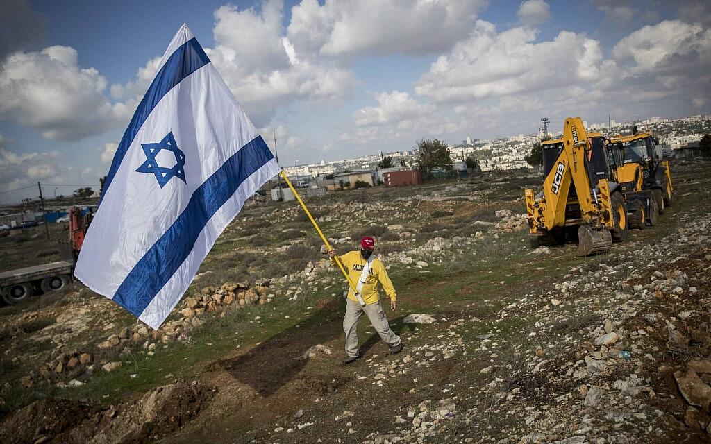 שכונת גבעת המטוס בירושלים, נובמבר 2020 (צילום: יונתן זינדל/פלאש90)