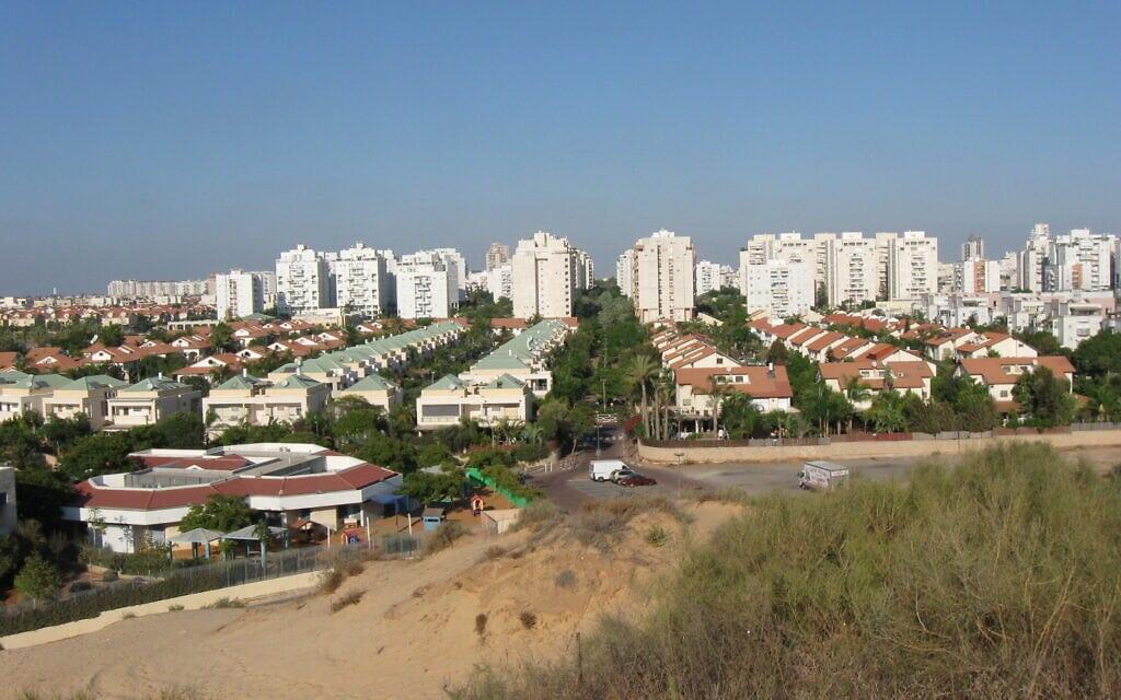שכונת נאות שקמה בראשון לציון (צילום: ויקיפדיה)