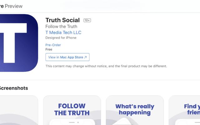 צילום מסך מתוך אתר אפל על הקמת הרשת של טראמפ