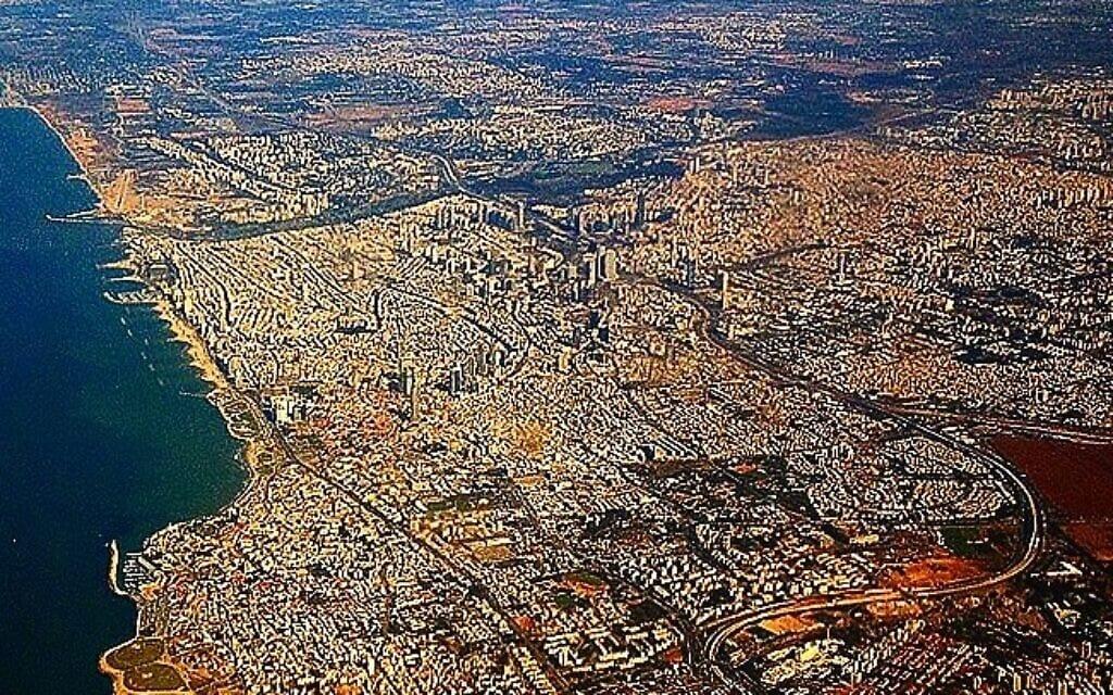 תל אביב מן האויר (צילום: דן פרי)