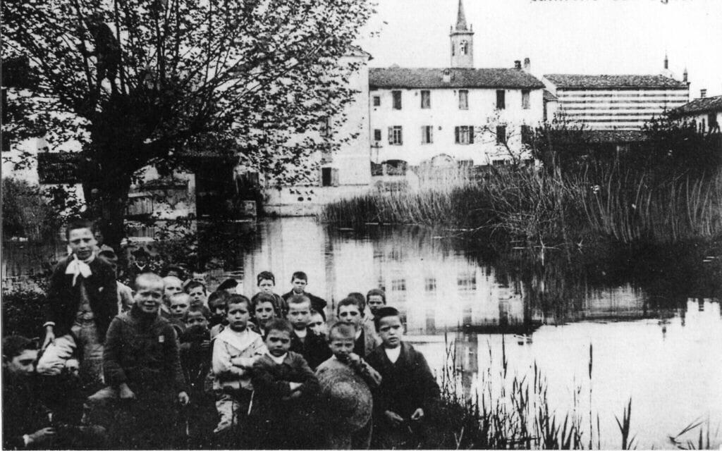 תעלת נאבילי בתחילת המאה ה-20 (צילום: Courtesy)