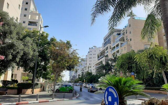 כוכב הצפון בתל אביב. מדורגת רביעית ברשימת השכונות העשירות בישראל