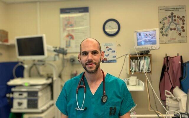 """ד""""ר פארס דראוושה, המרכז הרפואי הדסה (צילום: פולינה גוייכמן כהן, המרכז הרפואי הדסה)"""