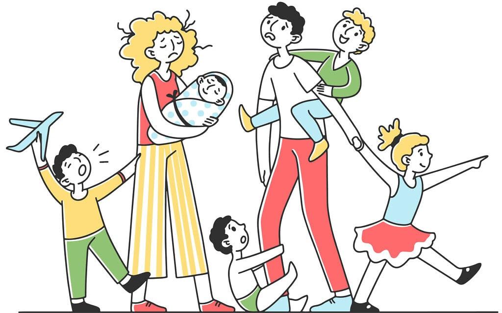 הורים וילדים בחופשה. אילוסטרציה (צילום: iStock)