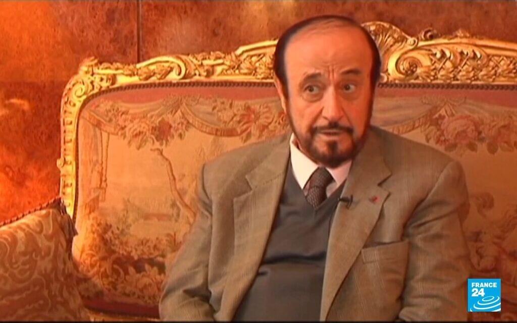 ריפאת אלאסד, צילום מסך מ-FRANCE 24 English
